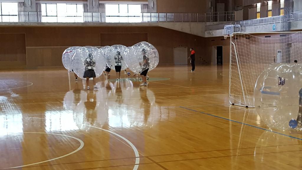 石川星稜高校バブルサッカー