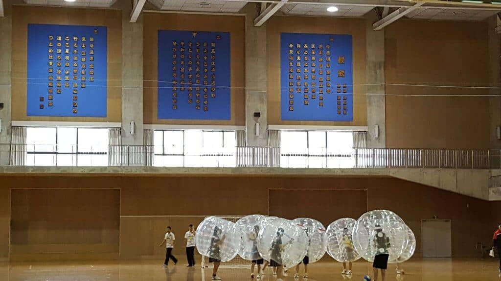 バブルサッカーレンタル石川
