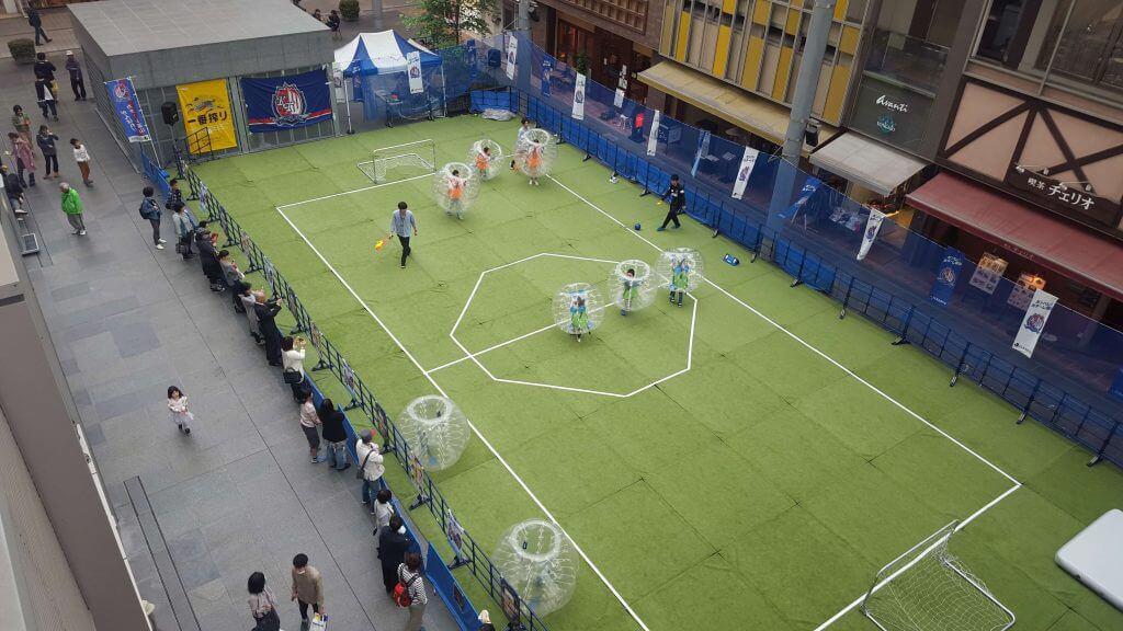 バブルサッカー商店街、地域活性