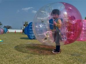 幼児用バブルボール