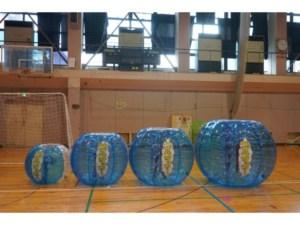 バブルサッカー(バブルボール)のレンタルについて