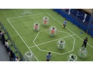 バブルサッカーをコロナでも